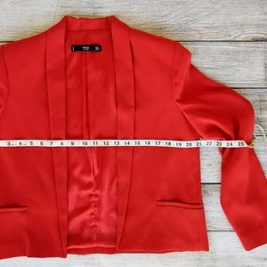 Mango Jackets & Coats - Mango Cherry Red Blazer